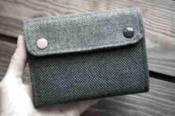 Materiałowy portfel - flamingi portfele happyart portfelik