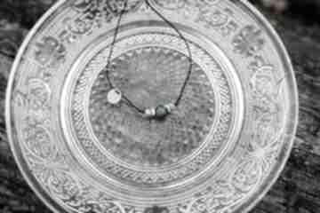 Bransoletka sznurkowa apatyt turkus hematyt w hand works