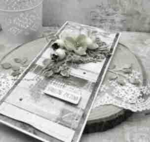 Serdeczne życzenia - kartka w pudełku vol 2 scrapbooking kartki