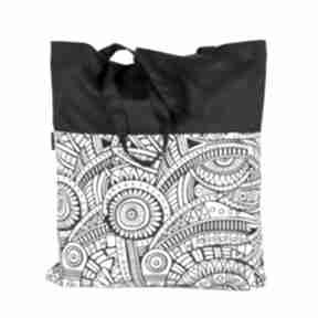 Gawka. torby siatka wzór etno