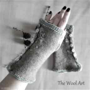 The Wool Art? rękawiczki mitenki na-dłonie prezent wełniane