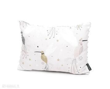 Poduszka podusia 30 x 40 jasiek kolibry biały dla dziecka