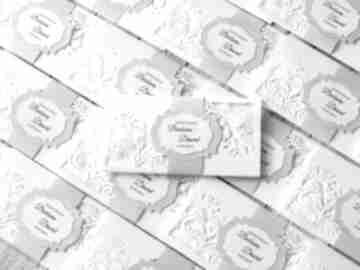 Zestaw zaproszeń na ślub zaproszenia biala konwalia
