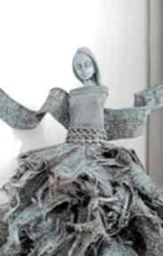 Anioł dostatku dekoracje nor art anioł-stróż, figura anioła