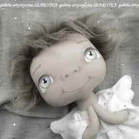 Aniołek lalka - dekoracja tekstylna, ooak pokoik dziecka