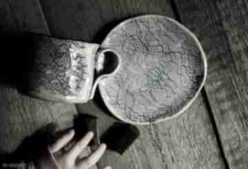 Filiżanka koronka kubki enio art filiżanka, kubek z-podstawkiem