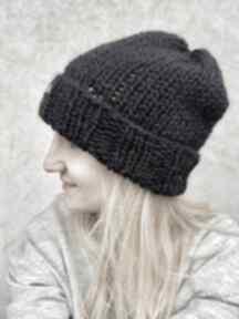 Czapka 100% wełna czapki the wool art ciepła czapka, wełniana