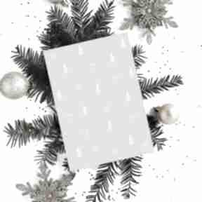 Prezent świąteczny? Kartka bożonarodzeniowa świąteczna - cardie