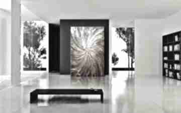 Grubo rzeźbiony obraz nowoczesny nie tylko do salonu art and