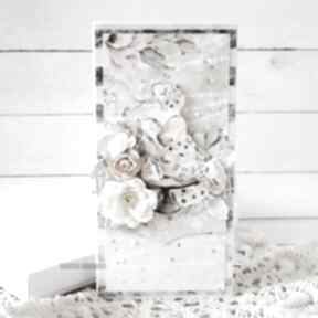 Kartka ślubna w pudełku, 590 scrapbooking kartki vairatka