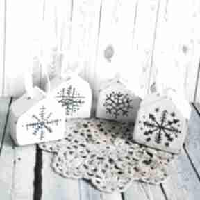 Domki - bombki dodatkowe zamówienie p aneta dekoracje maly