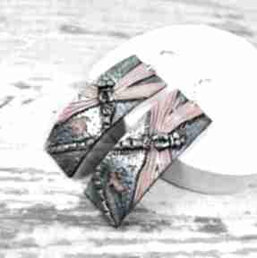 Długie kolczyki ważki kameleon kolorowe kolczyki, ważki