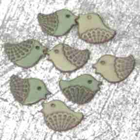 Ptaszki na magnes ceramika pracownia ako ptaszki, ceramika