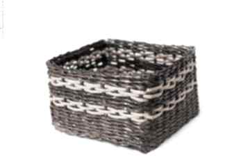 Prostokątny koszyk eko koszyczek pudełko przechowywanie prezent