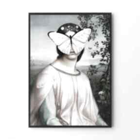 Papilio - plakat 50x70 cm plakaty hogstudio sztuka, plakat