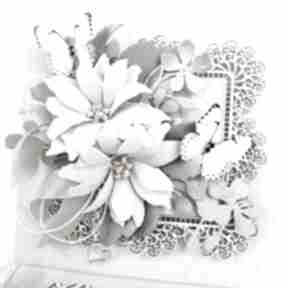 Kartka sztalugowa w pudełku scrapbooking kartki marbella