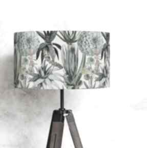 Abażur klosz do lampy podłogowej sukulenty lampidarium abażur