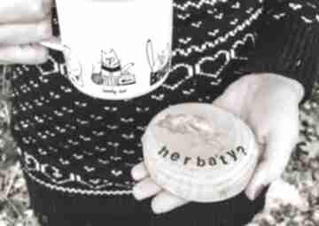 Podstawki pod kubek dwustronne kawa vs herbata podkładki hagal