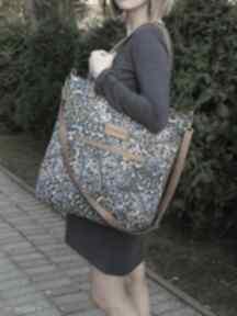 Shopper bag torebki czarnaowsianka shopper, must have, modna