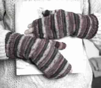 Mitenki eleganckie rękawiczki jaga11 eleganckie, ombre, kciuk,