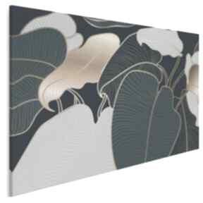 VAKU DSGN: liście natura rośliny artdeco dekoracja