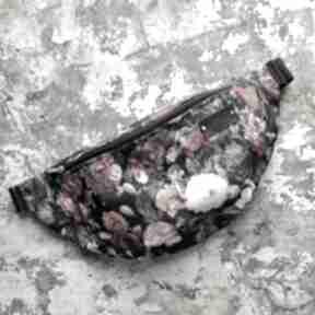 Nerka saszetka pojemna w kwiaty nerki godeco nerka, saszetka