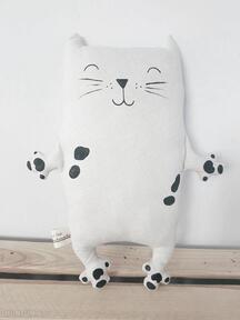 Kotek przytulaczek maskotki zapetlona nitka kot, kotek