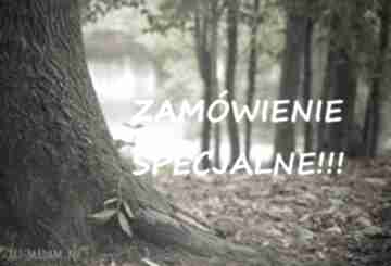 Zamówienie specjalne spinki do mankietów ekocraft