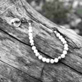 Kamień księżycowy - bransoletka magdalena markowicz