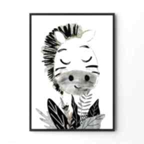 Plakat obraz zibi a2 - 42x59 4cm pokoik dziecka hogstudio