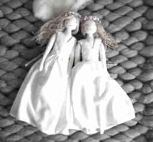 Zestaw 2 lalek księżniczek z ubrankami lalki szyje pani eko