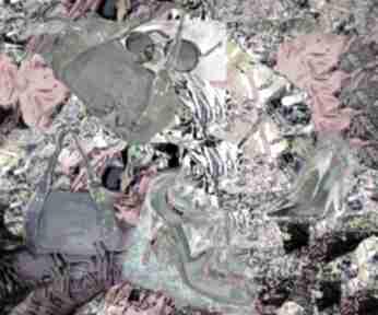 Nowoczesny obraz na płótnie fashionistka, 100 x 80, modern