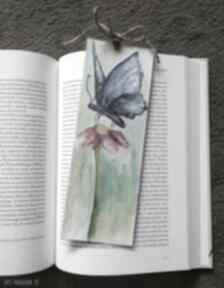 Zakładka do książki-motyl zakładki paulina lebida zakładka