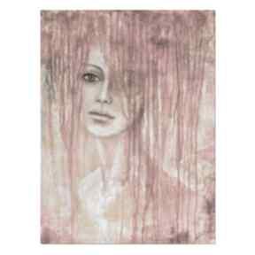 AleksandraB. Amunet, postać, kobieta, oryginalny obraz ręcznie