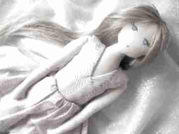 Lalka #198 lalki szyje pani przytulanka, szmacianka, eko