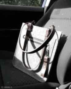 Torebka catoolabel na ramię catoo accessories laptop, filcowa