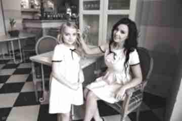 """Latori - sukienka dziewczęca z kolekcji """"mama i córka"""" dla córki"""