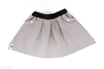 Spódniczka różowy piasek cudi kids spódnica, dzianina, zakładki,