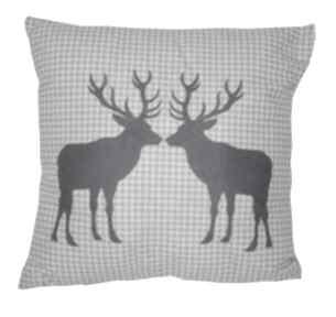 Pomysł na prezent: Poduszka dekoracyjna dwa jelenie poduszki