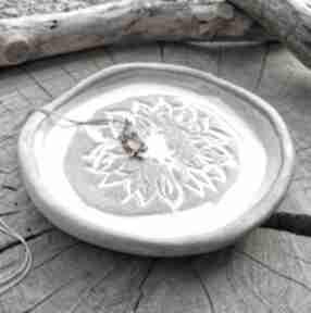 Ceramiczny talerzyk c287 ceramika shiraja talerzyk, ceramiczna