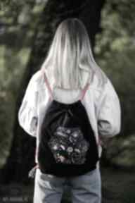 Worko-plecak prawiek folkowe kwiaty hexalove worko plecak