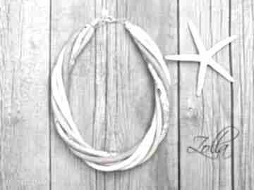 Pastelowy naszyjnik na lato, pomysł prezent naszyjniki pracownia