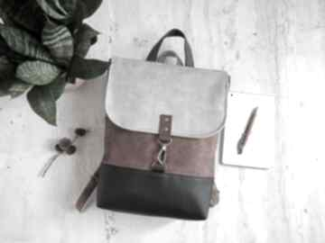 Wegański plecak z weluru fabrykawis na laptopa, damski plecak