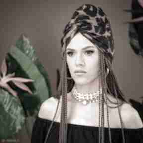 Turban - panterka ozdoby do włosów milita nikonorov turban