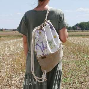 plecak len łąka, plecak, len, boho, hippie, bio, eko