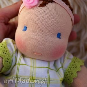 lili - 31 cm niemowlak waldorfski - lalka, waldorfska