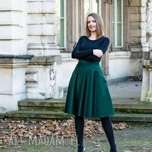 hand-made spódnice spódnica z połowy koła kwintesencja kobiecości