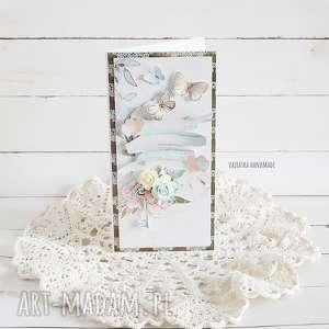 kartka ślubna w pudełku 472 vairatka handmade