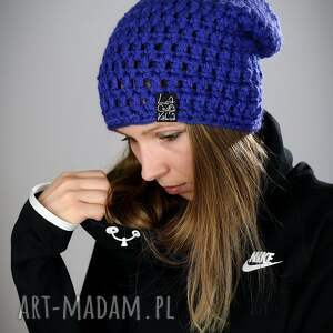 czapki czapka mono 11 - ultramaryna, na narty, snowboardowa