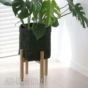 dekoracje kwietnik, stojak na kwiaty dąb natural - do donic max 30 cm, kwietnik